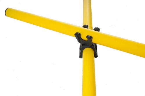 6 Verbindungsclips für Koordinationsstangen Koordinationstraining Agility