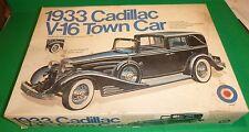 ENTEX 1933 CADILLAC V-16 TOWN CAR 1/16 MODEL CAR MOUNTAIN KIT