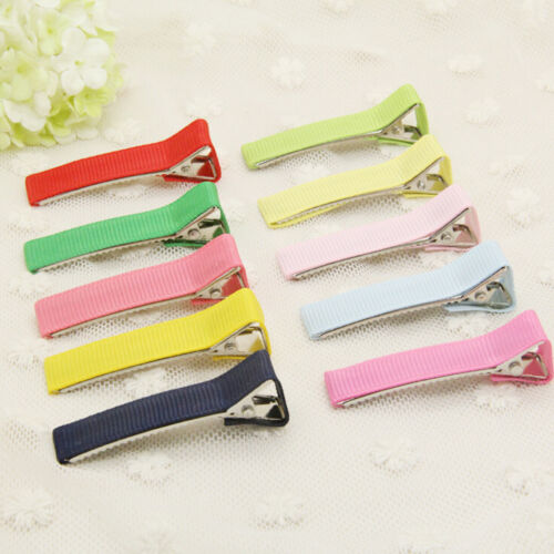 50 Metal Duck Bill Clip Mix Color Hair Section Clip Hair Duck-Bill Clips