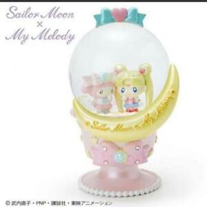 Sailor-Moon-x-My-Melody-Snow-Globe-snow-Dome-SANRIO-Japan-New-Best-Deal-F-S