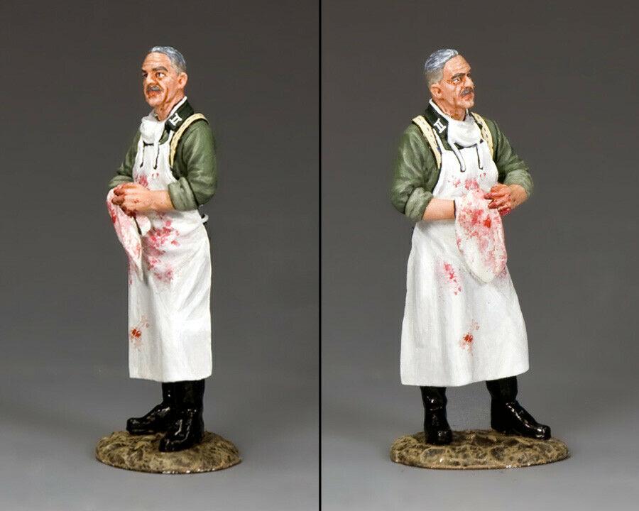 KING AND COUNTRY WW2 German - The Surgeon WH007 WH07 WH07