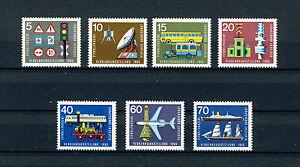 1965 BRD Satz postfrisch Mi.-Nr. 468 - 474 Technik - Deutschland - 1965 BRD Satz postfrisch Mi.-Nr. 468 - 474 Technik - Deutschland