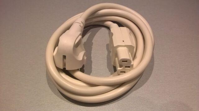 Heißgeräte Schuko-Zuleitung H05VV-F 3x1,5mm² weiß 1,5m