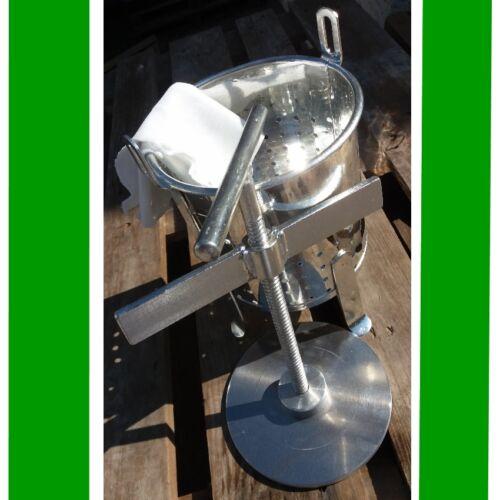 Thüringer Klöße Kloßpresse XXL 35 x 24 cm Handarbeit verzinnter Stahl Saft