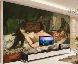 3D Nude Painting Art 7 Wall Paper Murals Wall Print Wall Wallpaper Mural AU Kyra