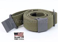 AmmoGarand M1 Garand Web Sling OD Green Cotton for USGI Rifle/Shotguns *US Made*