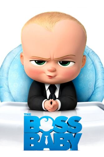 The Boss Baby MOVIE Film Cinema Home Posters Art #10 A3