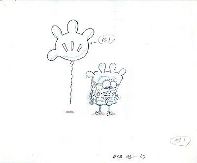 Rock Bottom Drawings Spongebob Squarepants Production Cel Drawings 3 Ebay
