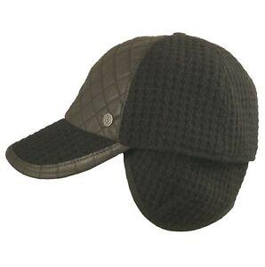 781154d8d3d790 Das Bild wird geladen Herren-Winter-Baseball-Cap-Basecap -Wintercap-Wollmuetze-Windstopper-