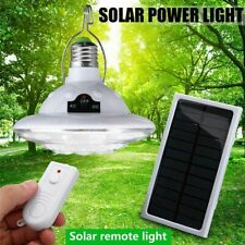 22LED Solar Lamp Hooking Camping Garden Path Light Remote Control Outdoor//Indoor