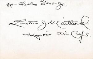 Lester J.Maitland- Signé 588ms Indice Carte 42jphtBn-09100659-389940722