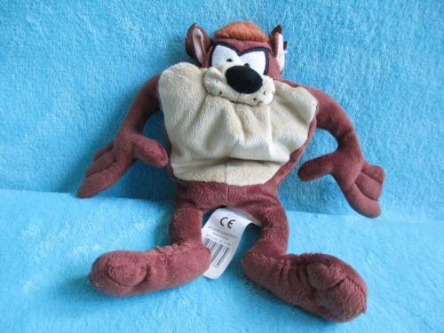 "Taz Tasmanian Devil Soft Plush Beanie Toy 10/"" Warner Bros. Boots Looney Tunes"