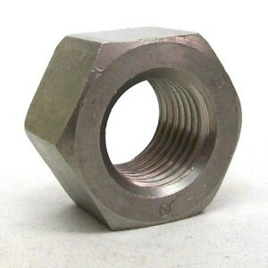 Details about (1) NEW 1 1/4-7 STAINLESS STEEL HEAVY HEX NUT ASTM A194 GRADE  8 FREE SHIPPING NH