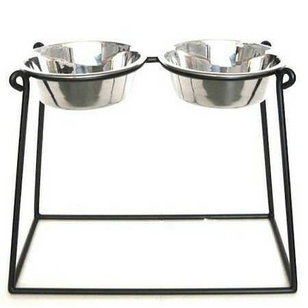 Pyramid Elevated Double Dog Feeder - XX Large