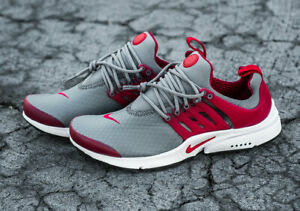 Details about Nike Air Presto, Red Grey, Brand New Mens men free rn flyknit boost run