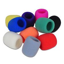 Sponge 5 Colors Karaoke Microphone DJ Filter Wind Shield Foam Mic Cover