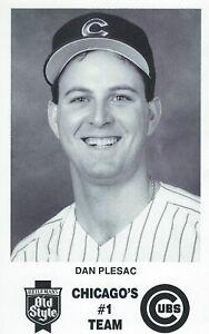 Dan Plesac Chicago Cubs 3 X 5 Photo