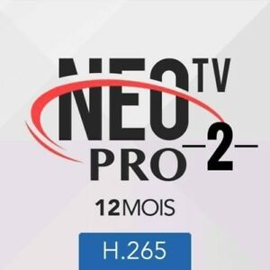 Details about iptv NEO TV PRO2 H 265, 12 months code and M3U Smart  TV,android box, MAG