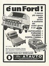 W0534 Ford - Concessionaria Atauto - Torino - Pubblicità 1967 - Advertising