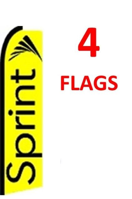 4 INSURANCE red//wh1 11.5 SWOOPER #1 FEATHER FLAGS BANNERS four