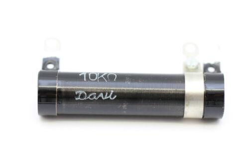 *1PC* U43 New Old Stock VARIABLE WIREWOUND RESISTOR 10K 10W 0,1-10 K DAVI NOS