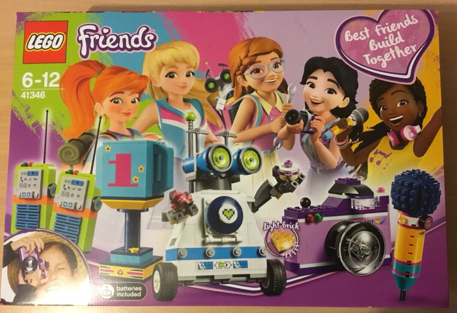 BNS LEGO Friends Friendship Box 41346 Best Friends Build Together