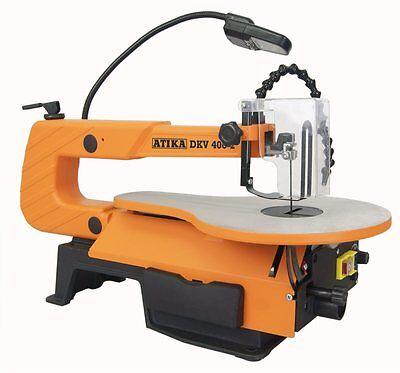 ATIKA Dekupiersäge Laubsäge Stichsäge Feinschnittsäge DKV 400 - 2 NEUES MODELL *