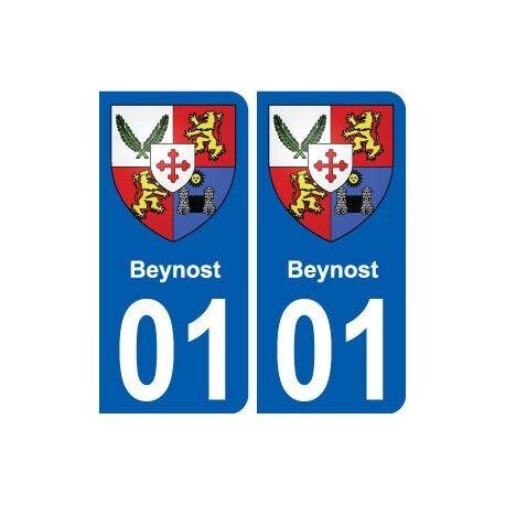 01 Beynost Ville Autocollant Plaque Sticker
