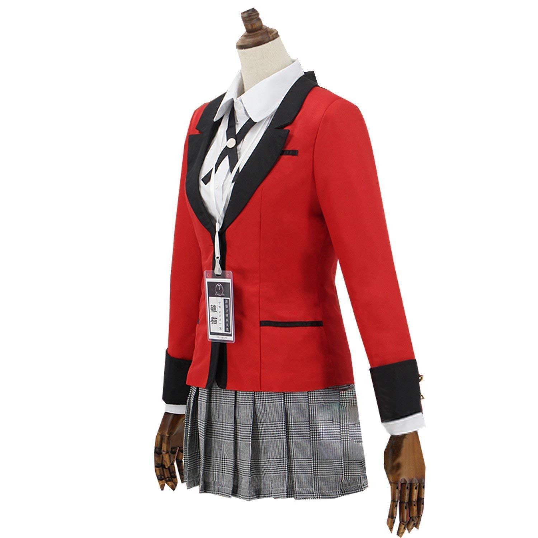 Kakegurui Compulsive Gambler School Uniform Yumeko Jabami ...