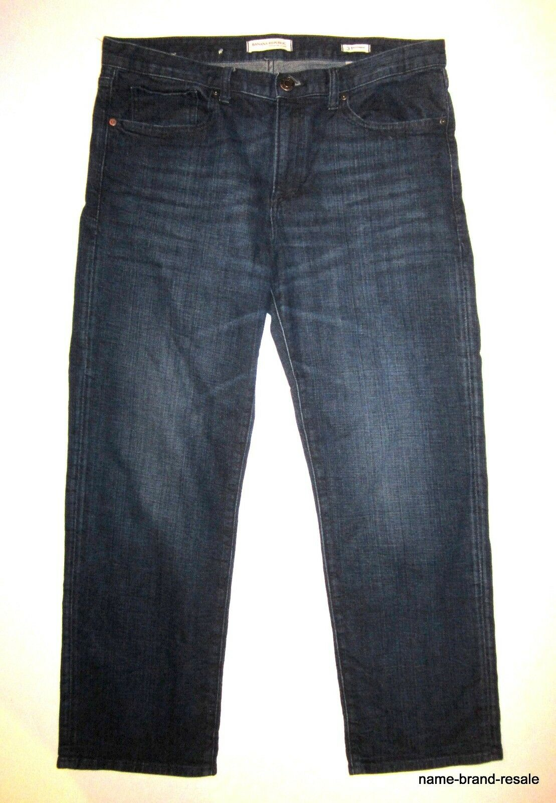 BANANA REPUBLIC Boyfriend JEANS Womens 31 Dark Faded Denim
