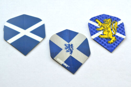 3 SETS SCOTLAND ST ANDREWS DART FLIGHTS  1 SET OF EACH