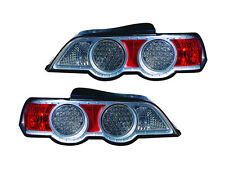 Depo Acura Rsx Dc5 02-04 Base Type S Coupe Led Titanium Rear Tail Light Lamp Set