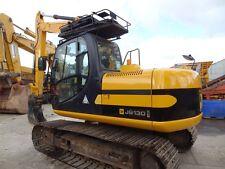 JCB js130lc Mini Escavatore decalcomania Set con Safty AVVERTIMENTO