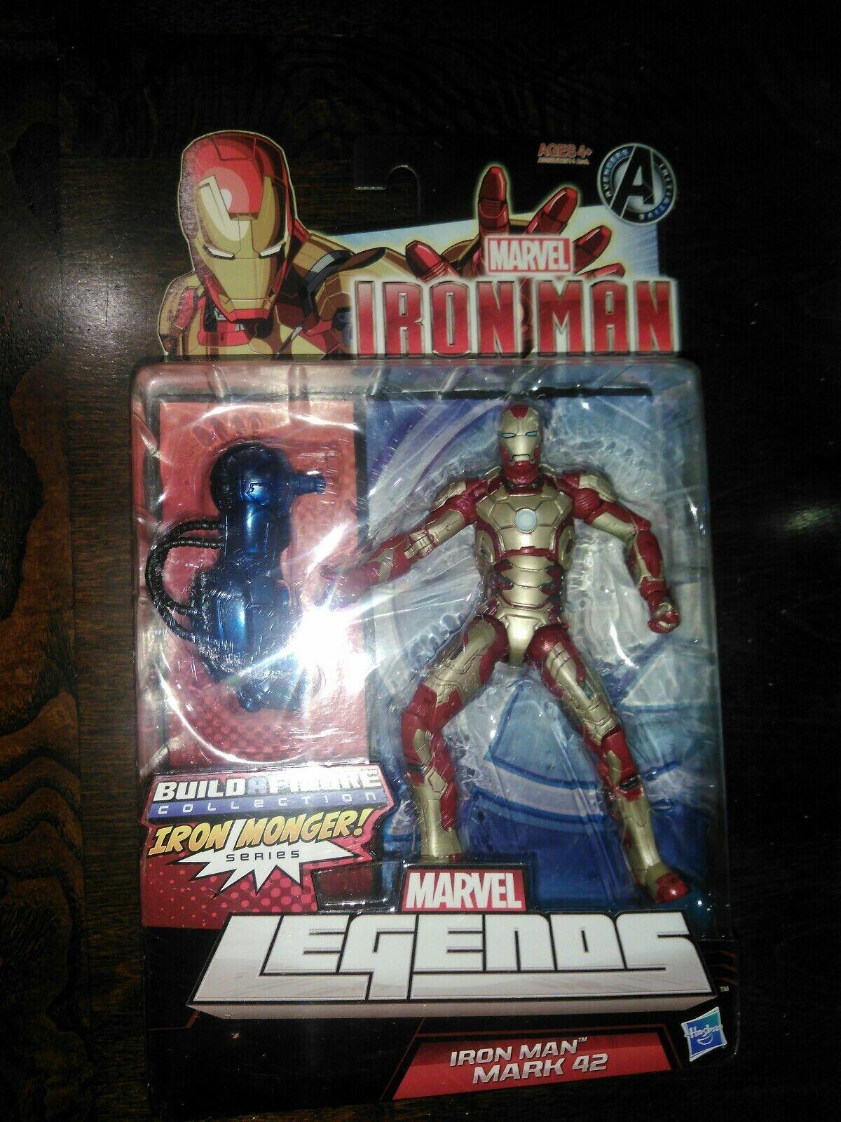 Hasbro Marvel Leyendas Iron Man Mark 42 Figura De Acción