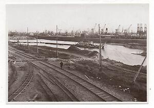 PHOTO-PORT-DE-DUNKERQUE-Travaux-de-reamenagement-amenagement-Annees-1930