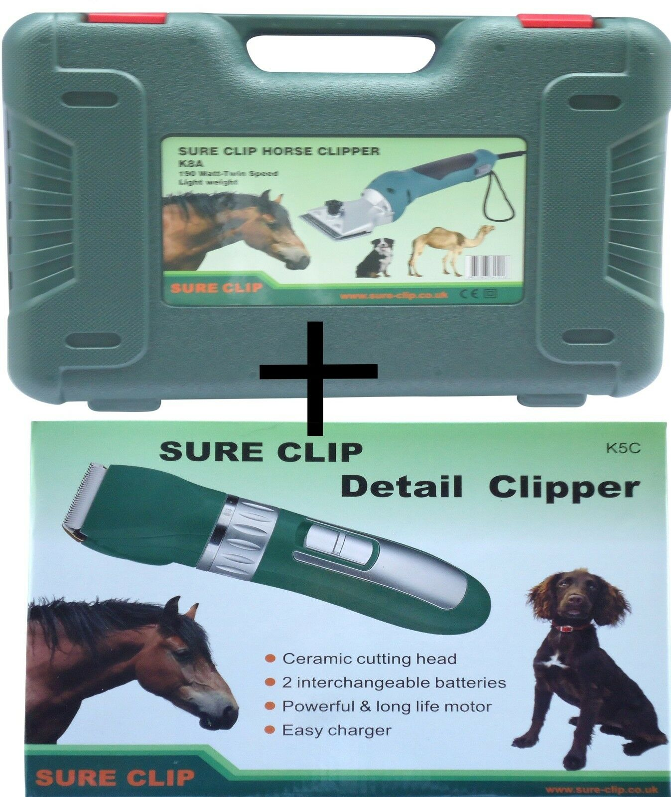 Horse Clipper Ultimate Horse Grooming Kit