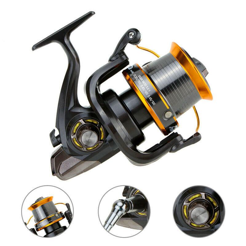 12+1 BB Spinning Metal Fishing Reel Carp Wheel   Reel Handle LJ3000-9000 Coils  cheaper prices