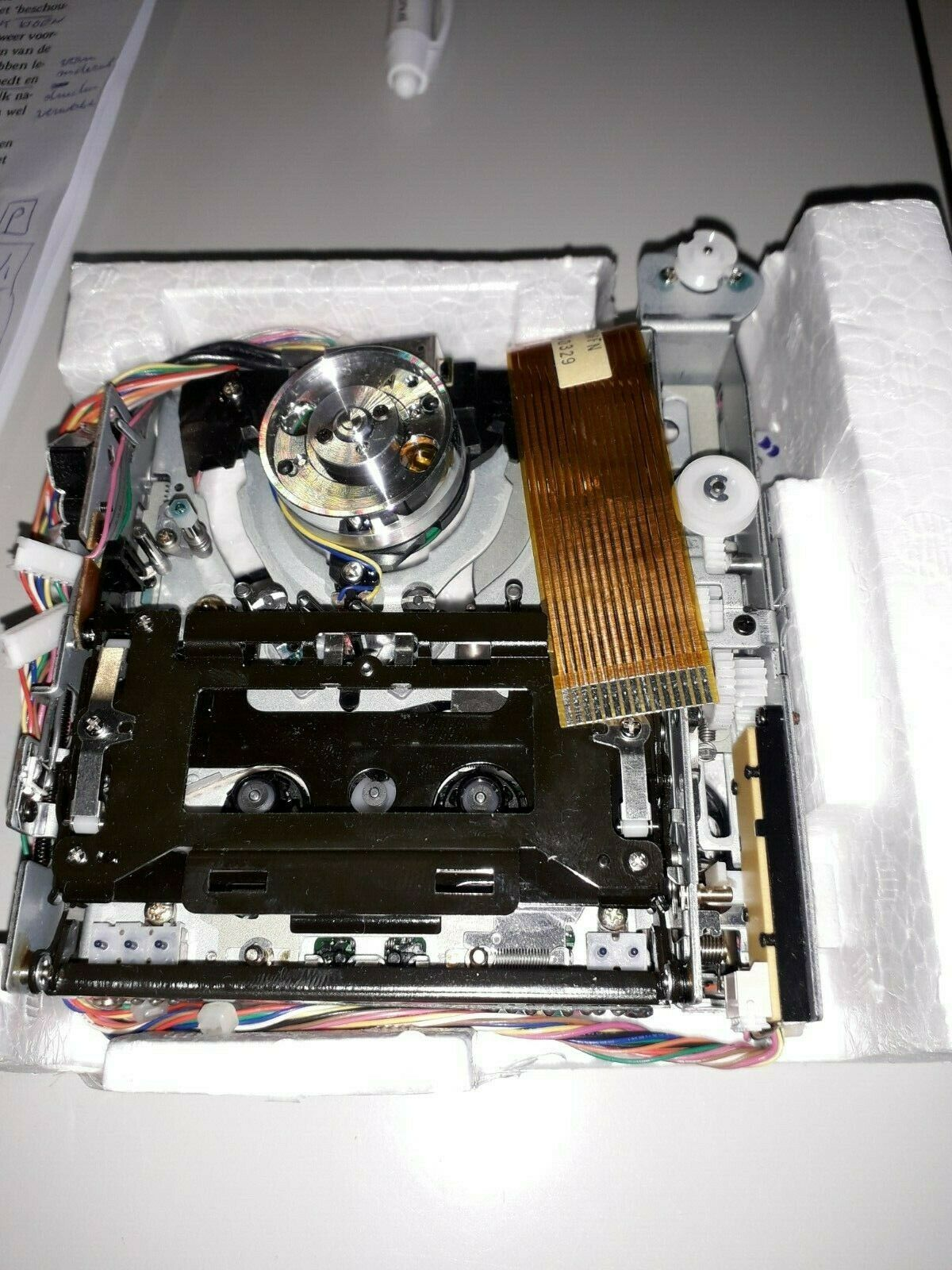 CASIO DA-2 DA-7 & TASCAM DA-P20 DAT-recorder mechanics