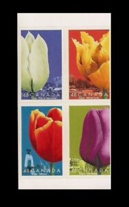 Canada-Stamps-Pane-of-4-Tulips-Vancouver-Ottawa-Bishop-1946-MNH