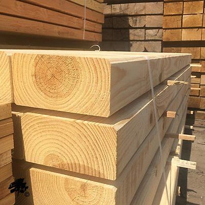 Bevelled & Planed All Round Softwood Garden Sleepers - Various Sizes Available
