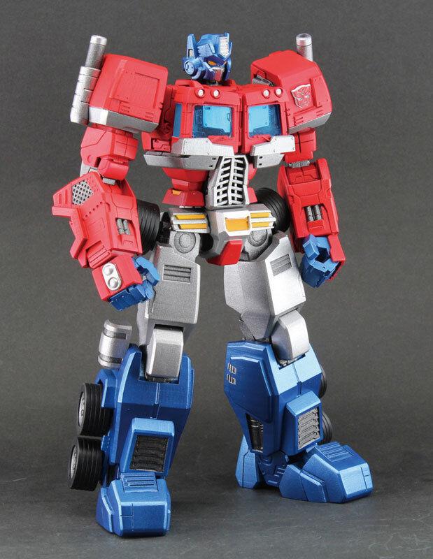 Hero of Steel - TRANSFORMERS Convoy ( Optimus Prime) by Alphamax