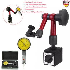 DE-Magnet-Messstativ-mit-mechanischer-Zentralklemmung-Uhrhalter-Messuhr