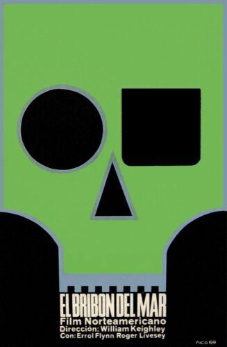 8395.El bribon del mar.north american film.robot.POSTER.movie decor graphic art