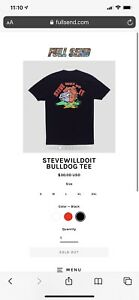 Full Send June Drop Confirmed Order Stevewilldoit Black Bulldog Tee Large Ebay Finding steve will do it in florida. details about full send june drop confirmed order stevewilldoit black bulldog tee large