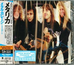 METALLICA-THE-5-98-EP-GARAGE-DAYS-RE-REVISITED-2018Remaster-JAPAN-SHM-CD-D20