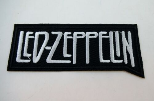 """Led Zeppelin 4/"""" Embroidered LOGO Iron On Patch Plant Paige Hard Rock"""