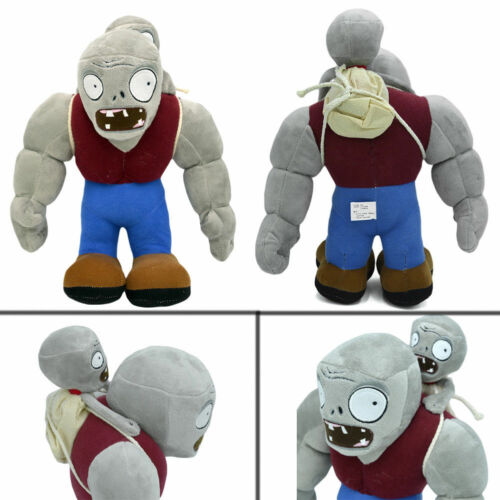 "11/""Plants vs Zombies PVZ Figur Plush Baby Staff Toy Stuffed Soft Doll Gargantuar"