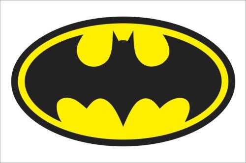 Batman B logo Sticker Decal Graphic Hard Hat Box Window Decor Waterproof Hotsale