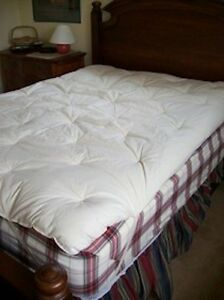 Eco Wool Mattress Topper Pad Organic Made In Usa
