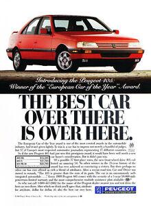 1989 Suzuki Swift GTI Original Advertisement Car Print Ad J365